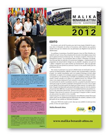 Rétrospective 2012
