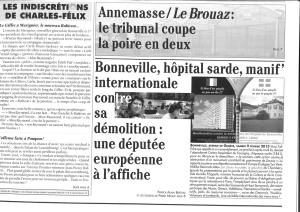 Article du Faucigny