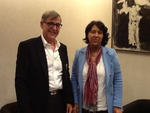 Garry Neil et Malika Benarab-Attou, Parlement européen