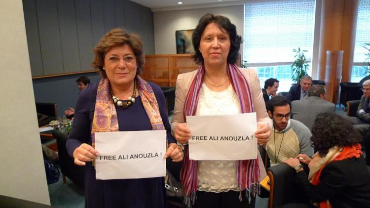 Malika Benarab-Attou  et Ana Gomes