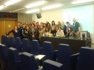 Rencontre avec des lycéens de la Ravoire, Chambéry