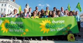 Participation au grand rassemblement de Lyon contre le nucléaire, le 13 octobre 2012
